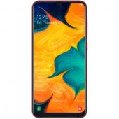 Смартфон Samsung Galaxy A30 64Gb, красный