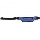 Сумка спортивный на пояс Momax XFIT Fitness Belt для смартфона, синий