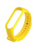 Ремешок для Xiaomi Mi Band 4, силиконовый, желтый