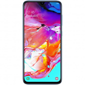 Смартфон Samsung Galaxy A70 128Gb, синий