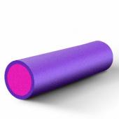 Валик для фитнеса гладкий 45х15см, сиреневый