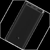 Аккумулятор внешний Xiaomi Mi Power Bank 3 Super VOOC Version, 20000 mAh, черный