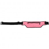 Сумка спортивный на пояс Momax XFIT Fitness Belt для смартфона, розовый