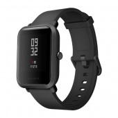 Умные часы Xiaomi Amazfit Bip, черный глянец (Global Version)