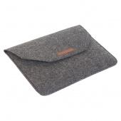 Чехол для Macbook 13 фетровый конверт, серый