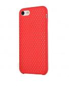 Чехол для iPhone 7/8 сетчатый, красный