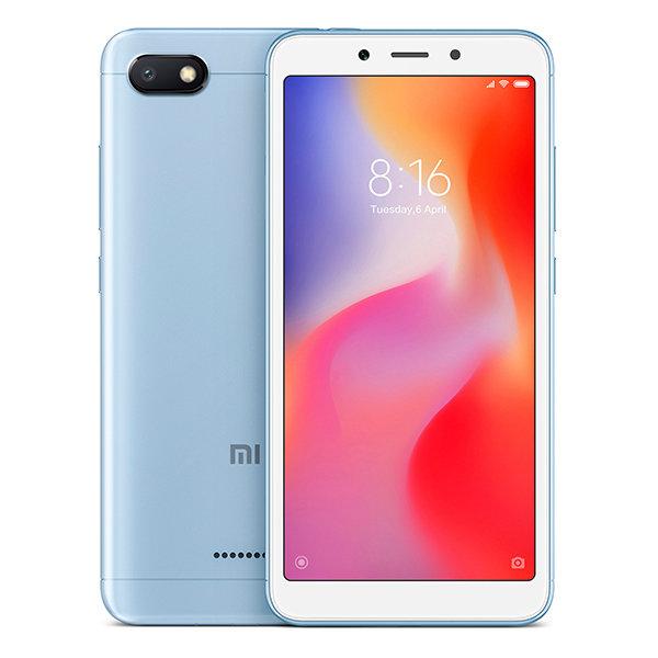 Смартфон Xiaomi Redmi 6A, 32GB/3, голубой (China Version)