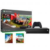 Игровая приставка Xbox One Microsoft X 1TB + Forza Horizon 4 + LEGO Speed Champions, черный