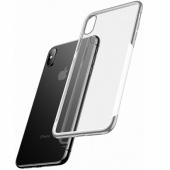 Чехол для iPhone X/XS Baseus Glass & Weaving, черный