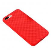 Чехол для iPhone 7/8 Plus сетчатый, красный