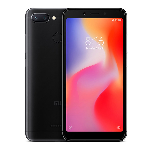 Смартфон Xiaomi Redmi 6, 64GB/4, черный (Global Version)