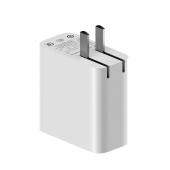 Зарядное устройство Xiaomi 2 USB, 36W, QC 3.0, белый