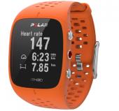 Умные часы Polar M400 HR, оранжевый