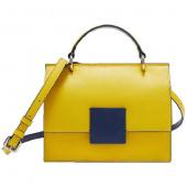 Сумка женская Xiaomi CARRY'O Nordic Geometric Contrast Bag, желтый