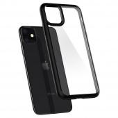 Чехол для iPhone 11 Pro Max, с черной рамкой, прозрачный