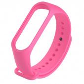 Ремешок для Xiaomi Mi Band 5, силиконовый, розовый