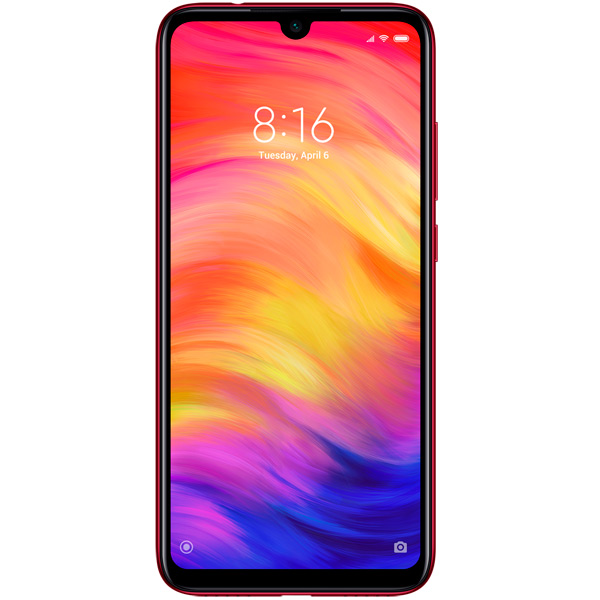 Смартфон Xiaomi Redmi Note 7, 128GB/4, красный (Global Version)