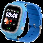 Детские часы с GPS, голубой