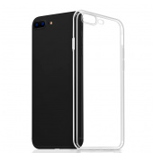 Чехол для iPhone 7/8 Plus TPU пластиковая крышка, прозрачный