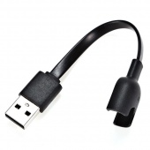 Зарядное устройство USB для Xiaomi Mi Band 2, черный