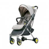 Детская коляска-трансформер Bebehoo Start Lightweight Four-wheeled Stroller, серый