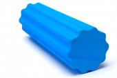 Валик для фитнеса zef 45x15см, синий