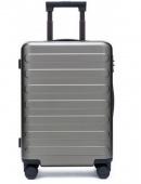 "Чемодан Xiaomi 90 Points Seven Bar Suitcase 24"" 65л, серый"