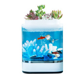 Аквариум Xiaomi Mini Lazy Fish Tank HF-JHYG005