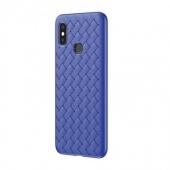 Чехол для Xiaomi Mi 8 Baseus BV Weaving, синий