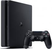 """Игровая приставка Sony Playstation 4 Slim 1TB + Геймпад беспроводной """"DualShock 4"""", черный"""