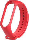 Ремешок для Xiaomi Mi Band 5, силиконовый, красный