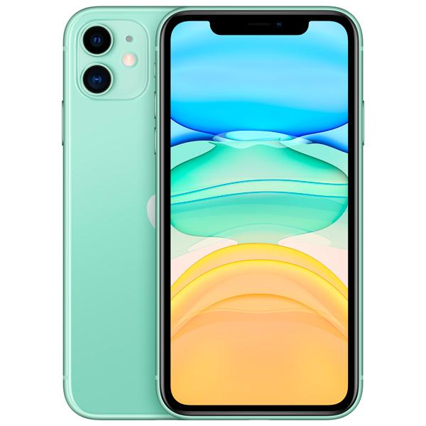 Смартфон Apple iPhone 11 128 GB, зеленый