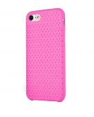 Чехол для iPhone 7/8 сетчатый, розовый