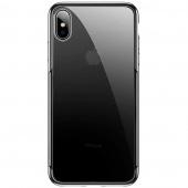 Чехол для iPhone X/XS Baseus Glitter, прозрачный