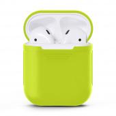 Чехол силиконовый для AirPods, зеленый