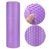 Валик для фитнеса sot 30x15см, фиолетовый