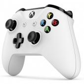 Геймпад беспроводной Microsoft Controller for Xbox One, белый
