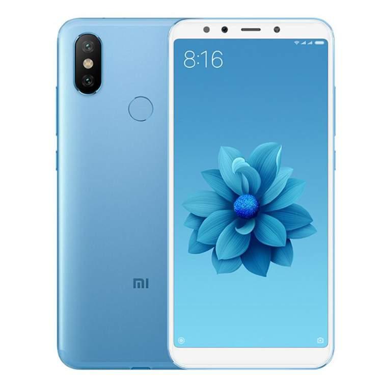Смартфон Xiaomi Mi A2, 64Gb/4, синий (Global Version)