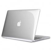 Чехол для Macbook Pro 13 (late2016) прозрачный, серебристый