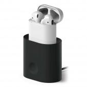 Подставка для зарядки AirPods, черный