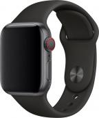 Умные часы Apple Watch Series 3, 38mm корпус из алюминия цвета «серый космос», спортивный ремешок че