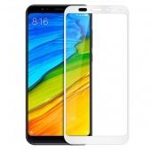 Стекло защитное для Xiaomi Redmi Note 5 10D, рамка белая