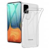Чехол для Samsung Galaxy A71, прозрачный