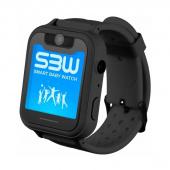 Детские часы с GPS G72, черный