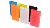 Чехол силиконовый для Xiaomi Power bank 5000 Slim, оранжевый