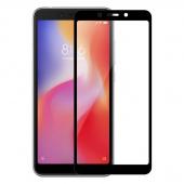 Стекло защитное для Xiaomi Redmi 6 3D, рамка черная