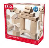 Конструктор BRIO 50pc Building Blocks - Natural
