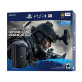 Игровая приставка Sony Playstation 4 Pro 1TB (CUH-7216B) + Call of Duty: Modern Warfare, черный
