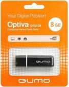 Флеш накопитель USB 8 ГБ Qumo Optiva, черный