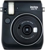 Фотоаппарат моментальной печати Fujifilm Instax Mini 70, черный
